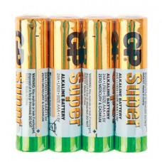 Батарейка AAA GP Super 24ARS LR03 alkaline  спайка 4 шт.