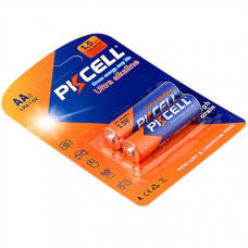 Батарейка AA PKCELL LR6-2B 2 шт Alkaline в блистере