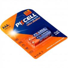 Батарейка AAA PKCELL LR03-2B 2 шт Alkaline в блистере
