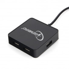 Концентратор USB 2.0 4 порта Gembird <UHB-242>, черный