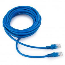 Патч-корд UTP   5m Cablexpert <PP12-5M/B> синий кат.5E
