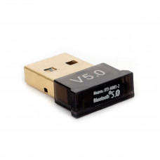 Bluetooth USB adapter Gembird <BTD-MINI5-2> ультратонкий корпус,  v.5.0, 10 метров, USB