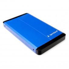 "Flexi-Drive EXT Gembird  SATA USB3.0, 2.5"" <EE2-U3S-2-B> синий, металл"