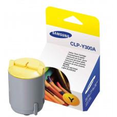 Картридж Samsung <CLP-Y300A>  для CLP-300 (1000стр.) желтый