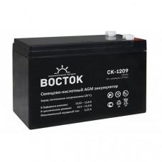 Аккумулятор    9Ah / 12V <ВОСТОК> <СК 1209>