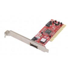 Контроллер PCI, SATA150 AgeStar 1-port eSATA, 2-port SATA, RAID <as-ps2es1-r3512>