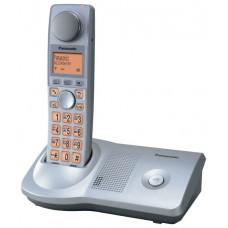 Телефон Panasonic KX-TG7175RUS (для людей с дефектами слуха, серебристый металлик)
