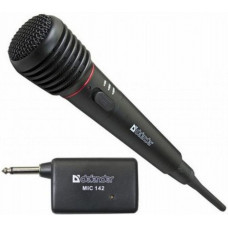 Микрофон Defender <MIC-142> динамический беспроводной