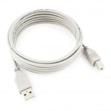 Кабель USB 2.0 A-->B, 3м  <CC-USB2-AMBM-10>