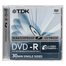 DVD-R 1.4GB, TDK, 8см, Scratchproof