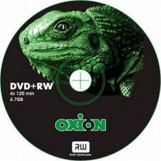 "DVD+RW 4.7GB, OXION  4x тех. упаковка 100 шт. ""Игуана"""