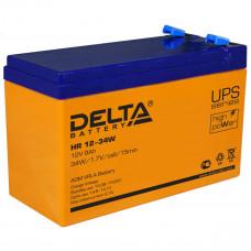 Аккумулятор    9Ah / 12V <Delta> <HR 12-34W>