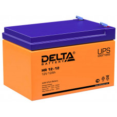 Аккумулятор  12Ah / 12V <Delta> HR 12-12