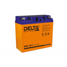 Аккумулятор  17Ah / 12V <Delta> DTM 1217