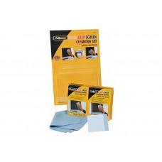 Набор Fellowes FS-2201001/3 для ухода за плазм./LCD, шпатель+12 бол. вл.салфеток+салфетка из микрово