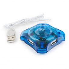Концентратор USB 2.0 4 порта Gembird <UHB-C224>