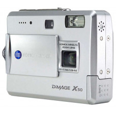Фотоаппарат Minolta DiMAGE X50, 5.0Mpix, 3x Zoom, SD/MMC