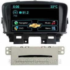 Комплект навигационного оборудования Intro CHR-2218 (Chevrolet Cruze) для штатной установки BT+TV