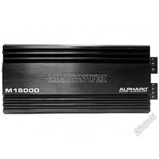 Усилитель 1 канальный Alphard Magnum M1500D