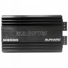 Усилитель 1 канальный Alphard Magnum M800D