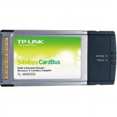 Адаптер TP-Link <TL-WN510G> 54M Wireless CardBus Adapter, Atheros chipset, 802.11g/b