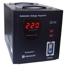 Стабилизатор Krauler  VR-SD3000VA черный