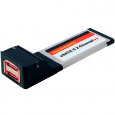 Адаптер ExpressCard/34mm --> 2xeSATA-II CBR <KNE-ES2>