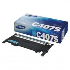 Картридж Samsung <CLT-C407S>  для CLP-320/325/320N (1000стр.) синий