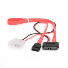 Разветвитель питания Molex --> miniSATA + SATA интерфейсный 35см <CC-SATA-C2>