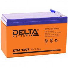 Аккумулятор    7.0Ah / 12V <Delta> <DTM 1207>