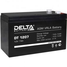 Аккумулятор    7.0Ah / 12V <Delta> <DT 1207>
