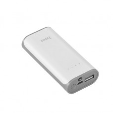Мобильный аккумулятор Hoco B21-5200, 5200мА/ч,USB, 1A, белый