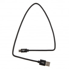 Кабель USB 2.0 A-->microB 5P  0.5м Cablexpert <CC-S-mUSB01Bk-0.5M> черный