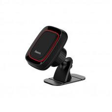 Автомобильный держатель для смартфона Hoco CA24, торпедо, магнитный, черный