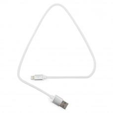 Кабель USB 2.0 A(m) --> Lightning  0.5м Cablexpert <CC-S-APUSB01W-0.5M> серия Silver, белый
