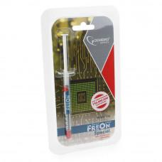 Термопаста Gembird FreOn Special GF-11-1.5 для радиаторов, 1,5 г, шприц 2.5 Вт/мК