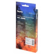 Мобильный аккумулятор Buro RCL-8000-WG Li-Pol 8000mAh 2.1A белый/серый 2xUSB