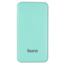 Мобильный аккумулятор Buro RCL-5000-GW Li-Pol 5000mAh 1A зеленый/белый 1xUSB
