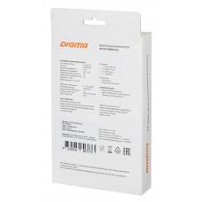 Мобильный аккумулятор Digma DG-PD-30000-SLV QC 3.0 Li-Pol 30000mAh 3A серебристый 2xUSB