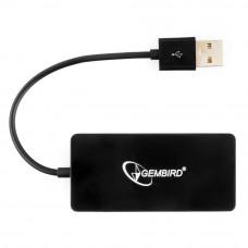 Концентратор USB 2.0 4 порта Gembird <UHB-U2P4-03>