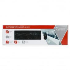 Клавиатура+мышь Gembird KBS-8002 беспр. USB