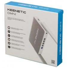 Маршрутизатор Keenetic Omni (KN-1410) N300 10/100BASE-TX/4G серый