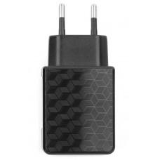 Адаптер питания 220 В - USB Cablexpert <MP3A-PC-04> USB 1 порт, 1A, черный