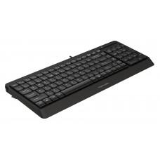 Клавиатура A4 Fstyler FK15 черный USB