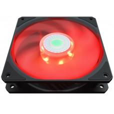 Вентилятор в корпус 120*120*25 Cooler Master <MFX-B2DN-18NPR-R1> SickleFlow 120 Red 4-pin 8-27dB LED