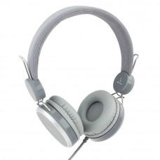 Наушники Gembird MHP-300-G, серый, кабель 1.5м