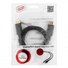 Кабель Display Port  Cablexpert <CC-DP-1M> 1.0м