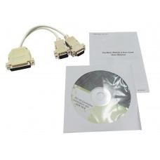 Адаптер Cardbus <PCMCIA>, 2xRS-232  (2xCOM 9 pin) Espada <CB-RS232>