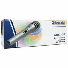 Микрофон Defender <MIC-132> динамический для караоке