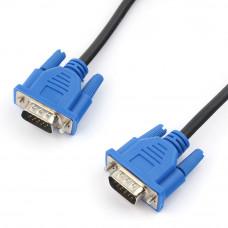 Кабель VGA(D-Sub) (15M-15M)  3м Cablexpert CC-PVGA-10 проф. Экран., фильтр